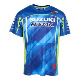 Suzuki Ecstar Team T-Shirt GSXR Blue
